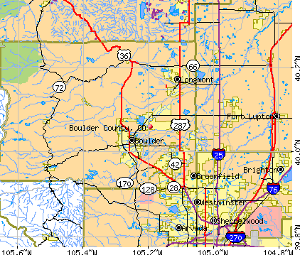 Trail Maps Wiki Colorado Boulder County - State map of colorado with cities
