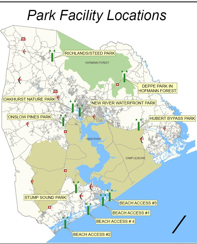 Onslow County Parks & Beach Access