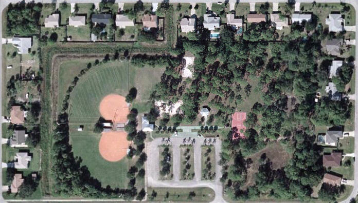 Overview of Lynbrook Park, Palm Bay, Brevard County, Florida