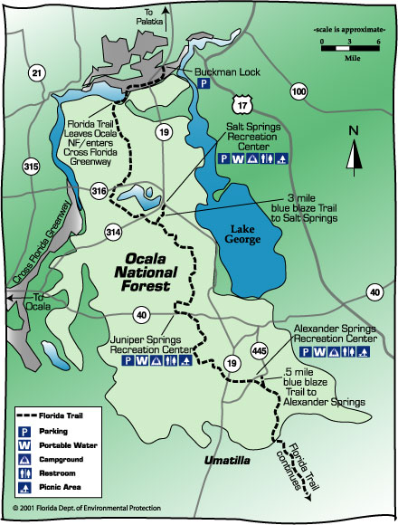 Trail Maps Wiki Ocala National Forest