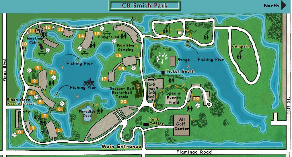 Trail Maps Wiki Florida Broward Cb Smith Park