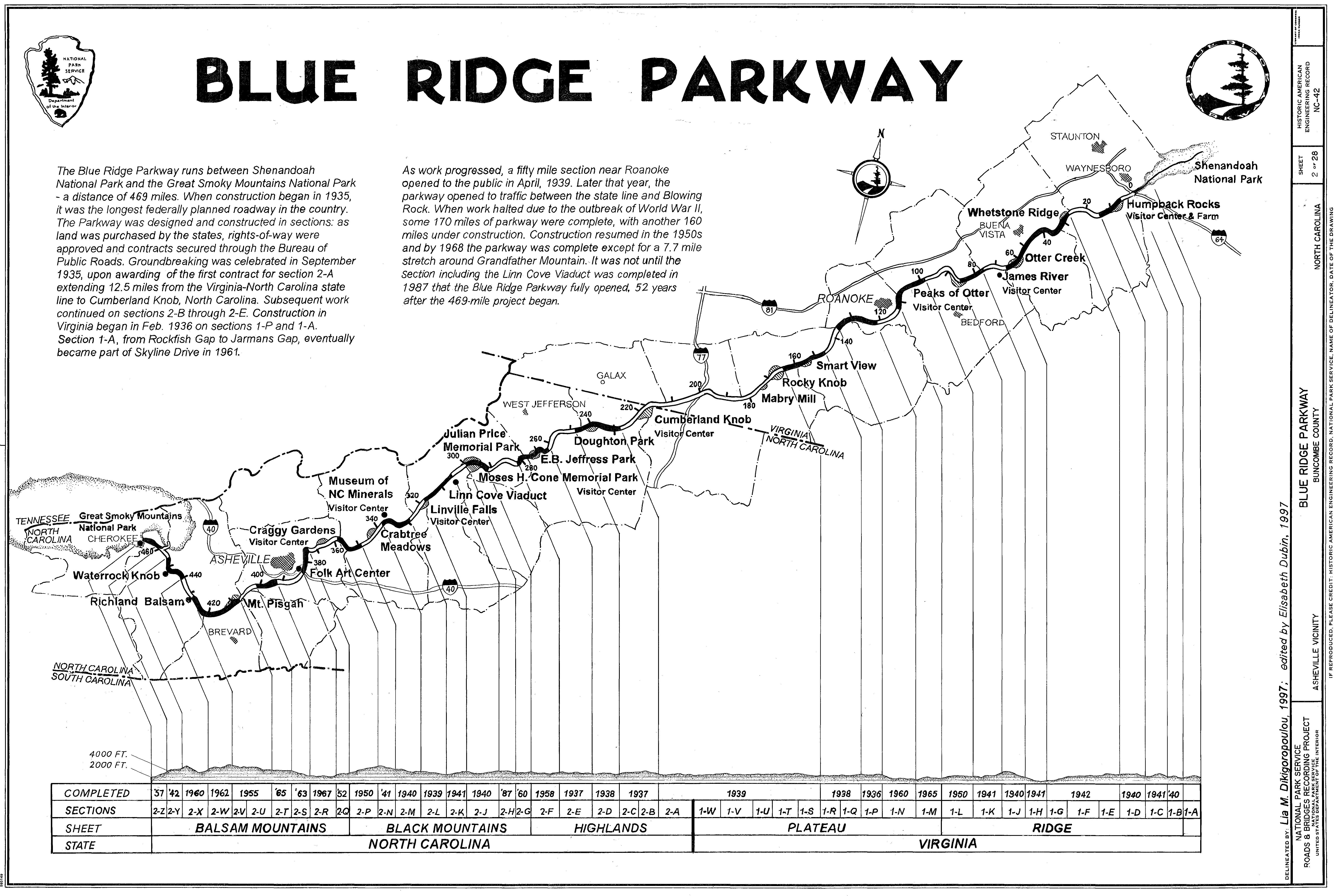 Trail Maps Wiki Blue Ridge Parkway