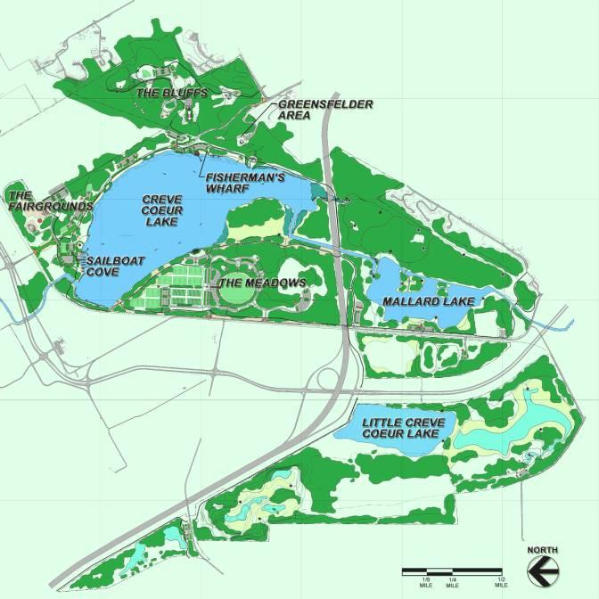 Creve Coeur Park Map Trail Maps Wiki / Missouri   St Louis County   Creve Coeur Creve Coeur Park Map